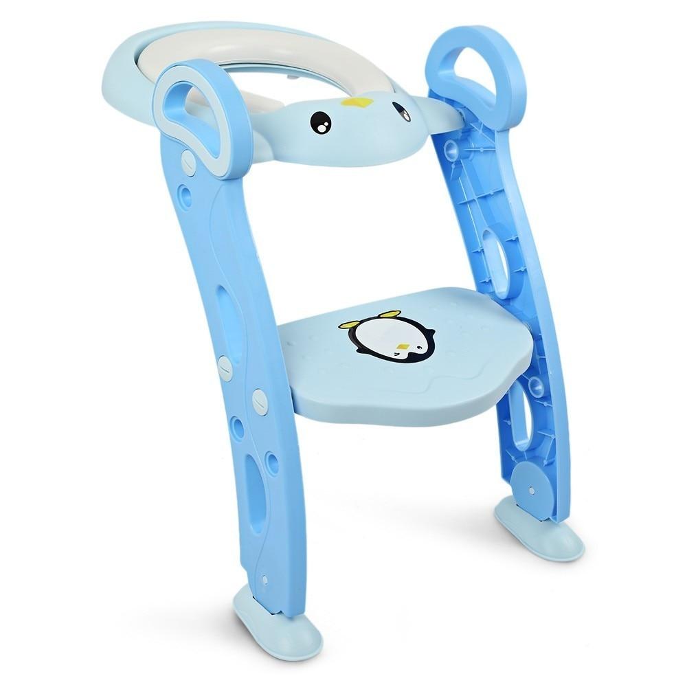 3 вида цветов Детское сиденье для обучения горшку детское сиденье для унитаза с регулируемой лестницей детское сиденье для унитаза