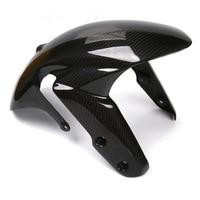 Carbon Fiber For Suzuki GSXR1000 K9 GSXR 1000 2009 2016 Front Fender Fairing Mudguard Cowl Motorbike GSX R Mud Guard Accessories
