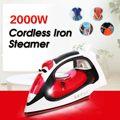 2000 w de rápido calor portátil ropa de casa inalámbrico de hierro de vapor cepillo para ropa generador de planchar la ropa interior de hierro de vapor de