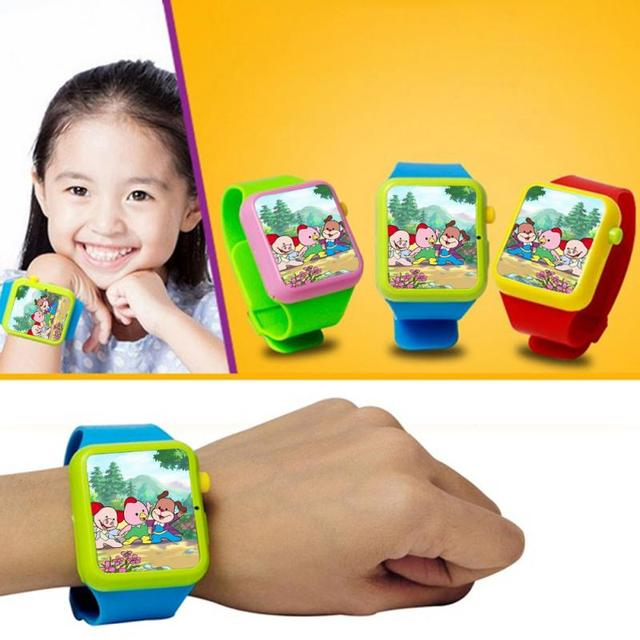Hot New Children Kids Early Education Smart Watch Learning Machine 3D Touch Scre