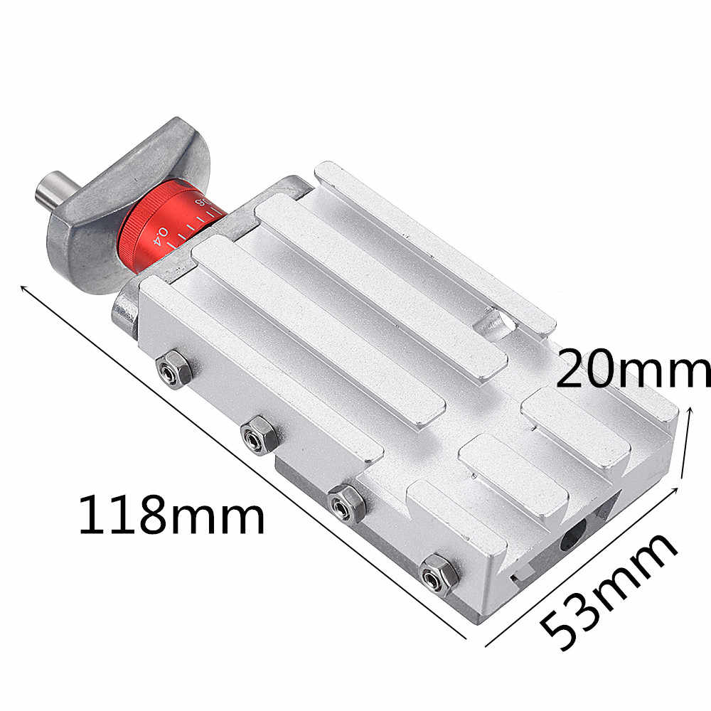 118mm Metal Cross Slide Longitudinal Slide Block Z008M For Mini Lathe Feeding Relieving Axis Y/Z