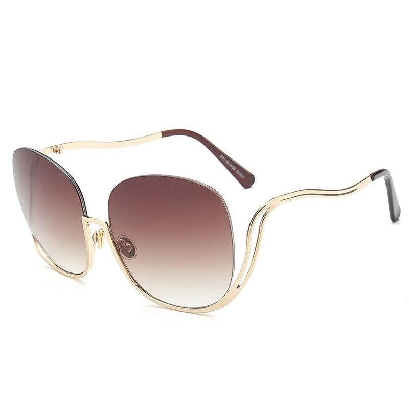 6 1 Mode 10 8 7 Gläser Frauen Rahmen 2019 9 5 4 Fahren 2 Sonnenbrille Sunglassesqnm1 Neue Großen 3 fqn6U