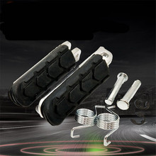 1Pair Motorcycle Front Footrest Pedal Foot Pegs Pedals For Honda CB250 CBR600F CB600F NC700