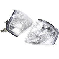 1 Pair High Quality Clear Lens Parking Turn Signal Corner Light For Mercedes Benz C Class W202 1994 2000