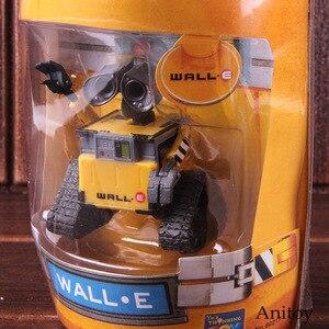 Image 4 - Wall e robô parede e & eve pvc action figure coleção modelo brinquedos bonecas 6cm
