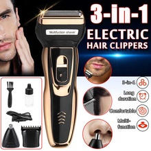 3 in 1 Electric Shaver Rechargeable Men