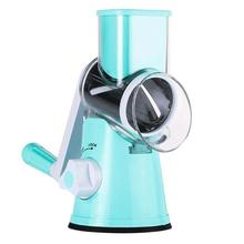 Multifunctional Manual Vegetables Cutter Round Mandoline Cheese Slicer