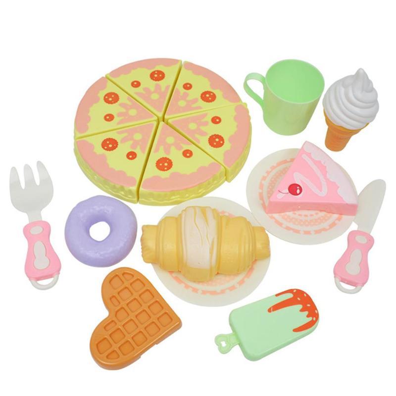 Aufrichtig Diy Geburtstag Kuchen Schneiden Spielzeug Küche Lebensmittel Obst Pretend Spielen Spielzeug Set Lernen Pädagogisches Kreative Geschenke Für Kinder Kinder
