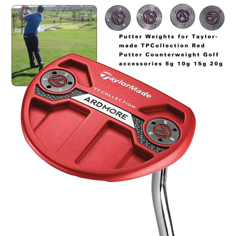 Golf Putter Screw Weight Golf Club Counterweight Screw For Taylormade TPCollection Red Putter Counterweight Golf Accessories