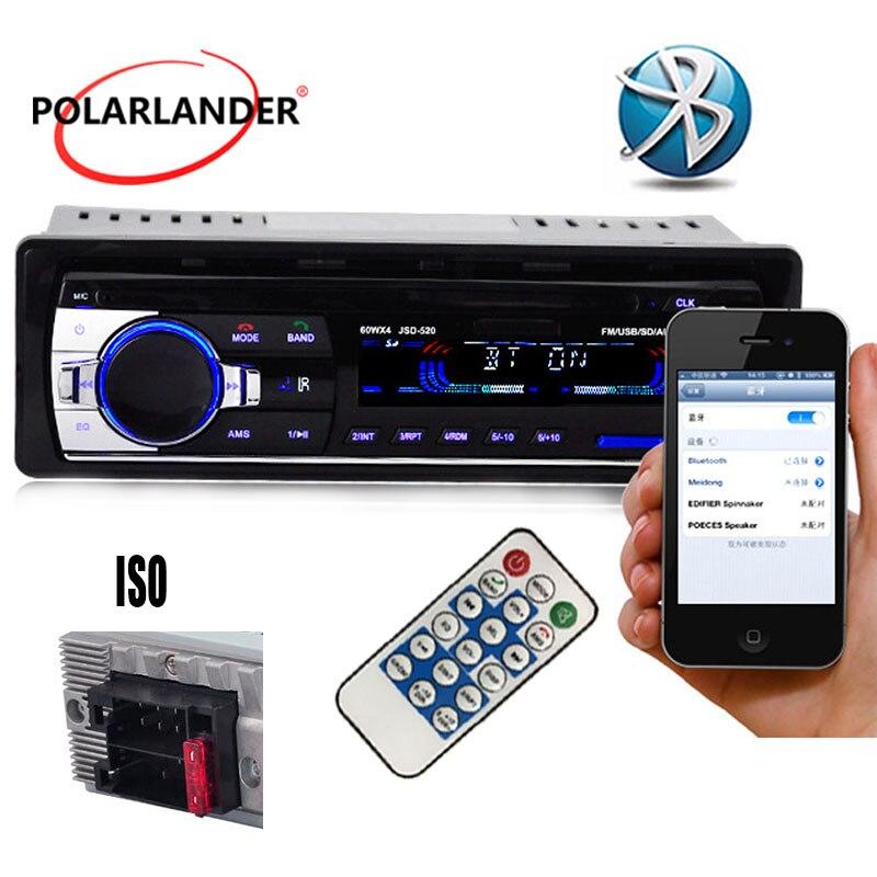 Auto Radio Stereo-Player Bluetooth Telefon AUX-IN MP3 1 Din auto elektrische 12 V Auto Audio Autoradio radio cassette player auto bänder