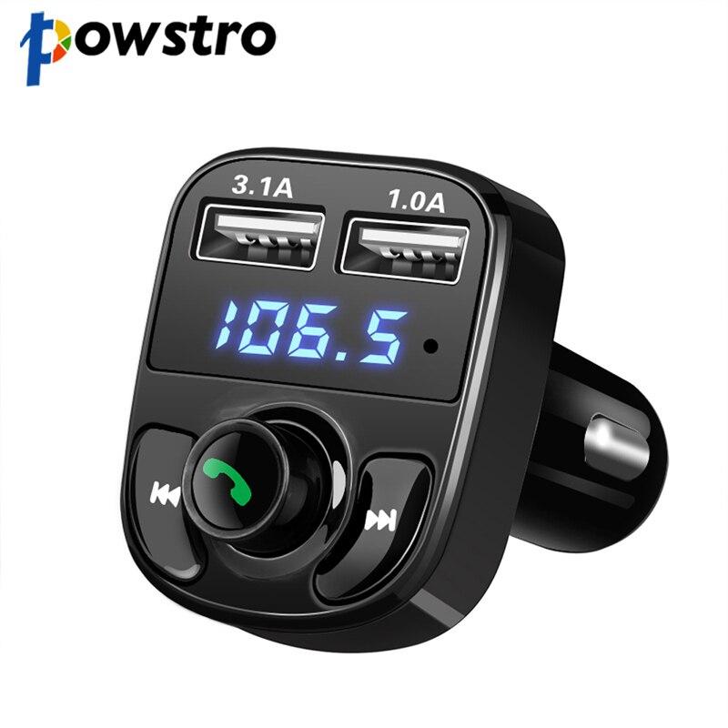 Bluetooth 4,0 Drahtlose Auto Mp3 Spielen 5 V 4.1a Dual Usb Auto Ladegerät Car Kit Unterstützung Für Freisprecheinrichtung Set Tf Karte 1g-32g Mp3-player