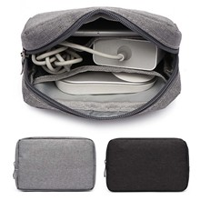 Case-Organizer Storage-Bag Digital-Accessories Travel Electronics Besegad Scratchproof