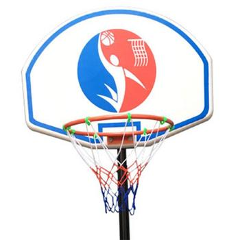 Portable Mobile Youth Basketball Stand Motion Fitness Detachable Kid's Basketball Stand Outdoor Sport Equipment Strong Durable