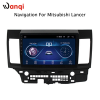 8,1 дюймов Android 2007 автомобиль дюймов dvd gps навигация для mitsubishi lancer 10,1 2015 Мультимедиа Радио dvd системы