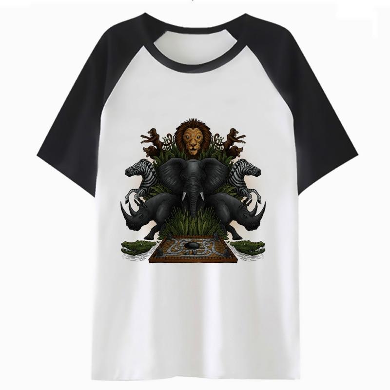 jumanji t shirt hip hop men funny clothing male t-shirt tee streetwear harajuku tshirt for top H1489