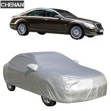 Tampas do carro tamanho s/m/l/xl suv l/xl interior ao ar livre completa capa de carro sol uv neve poeira chuva proteção resistente frete grátis