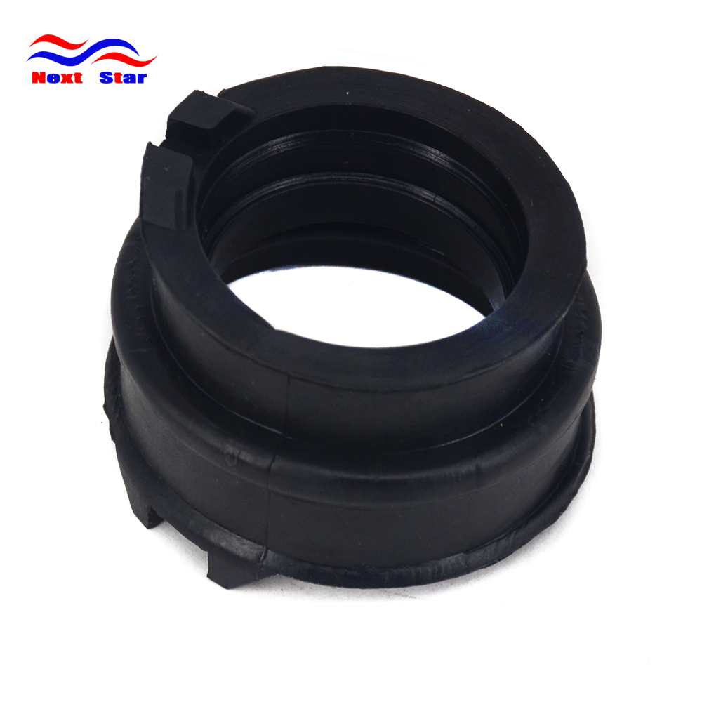 Motorcycle Black Glue Pipe Connector Carburetor Interface For SUZUKI AN400 Burgman400 Skywave400 1998-2002