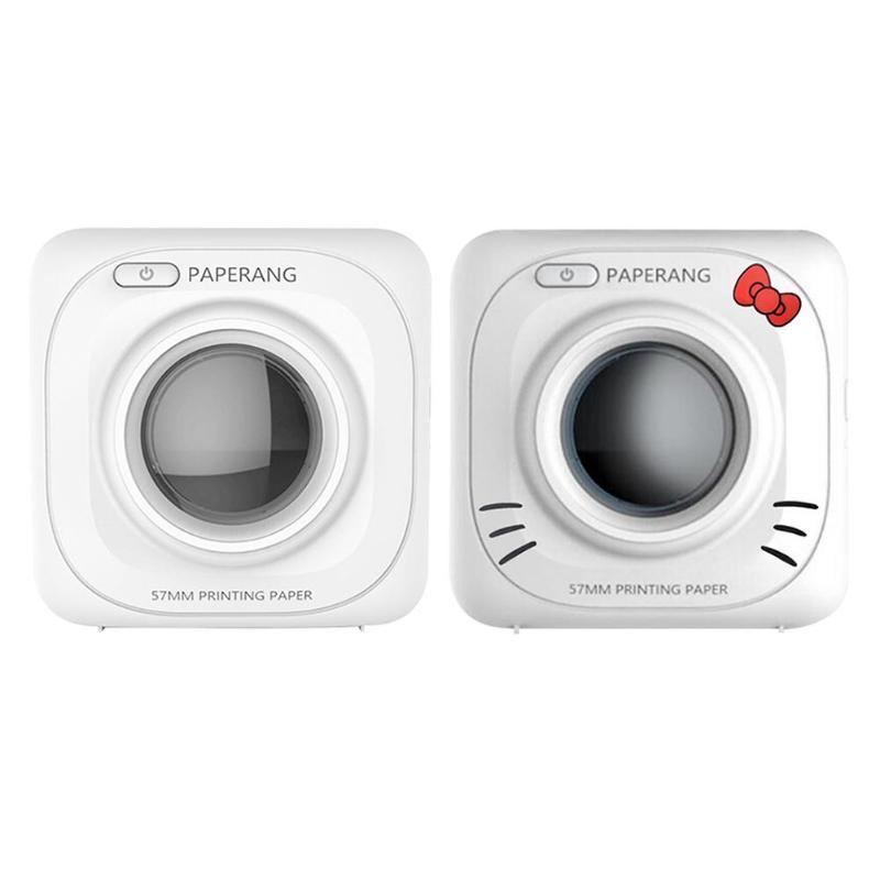 PAPERANG P1 Mini Bluetooth 4.0 Photo thermique imprimante de poche téléphone 1000 mAh batterie Lithium-ion