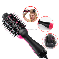 2 in 1 Wind Comb Hot Hair Comb Negative Ion Hair Comb Hair Curler Straight Hair Dryer Multifunctional Shape