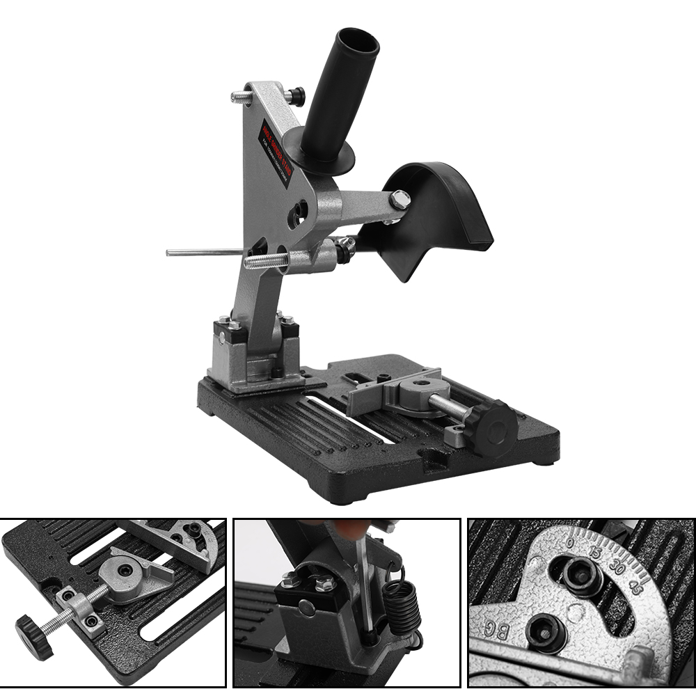 Angle Grinder Accessories Angle Grinder Holder Woodworking Tool DIY Cutting Stand Grinder Support Dremel Power Tools AccessoriesAngle Grinder Accessories Angle Grinder Holder Woodworking Tool DIY Cutting Stand Grinder Support Dremel Power Tools Accessories