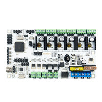 12V Upgraded Integrated Motherboard Control Board Module Support 3 Print Heads For 3D Printer Mainboard