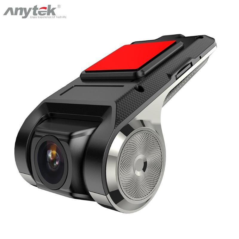 Anytek-X28 Mini caméra DVR wi-fi voiture   1080P, FHD enregistreur vidéo, ADAS caméra de tableau de bord 150 degrés grand Angle, capteur G Dashcam