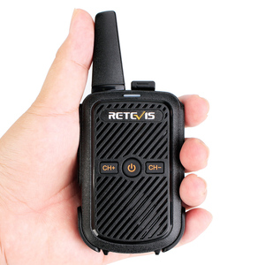 Retevis RT15 Portable Walkie Talkie 2W UHF 400-470MHz 2-Way Radio HF Transceiver CTCSS/DCS TOT VOX Scan Intercom Speakers Mic