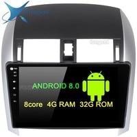 10,2 дюймов ips экран Android 8,0 блок gps навигатор Автомагнитола для Toyota Corolla мультимедиа 2007 2008 2009 2010 2011 PC