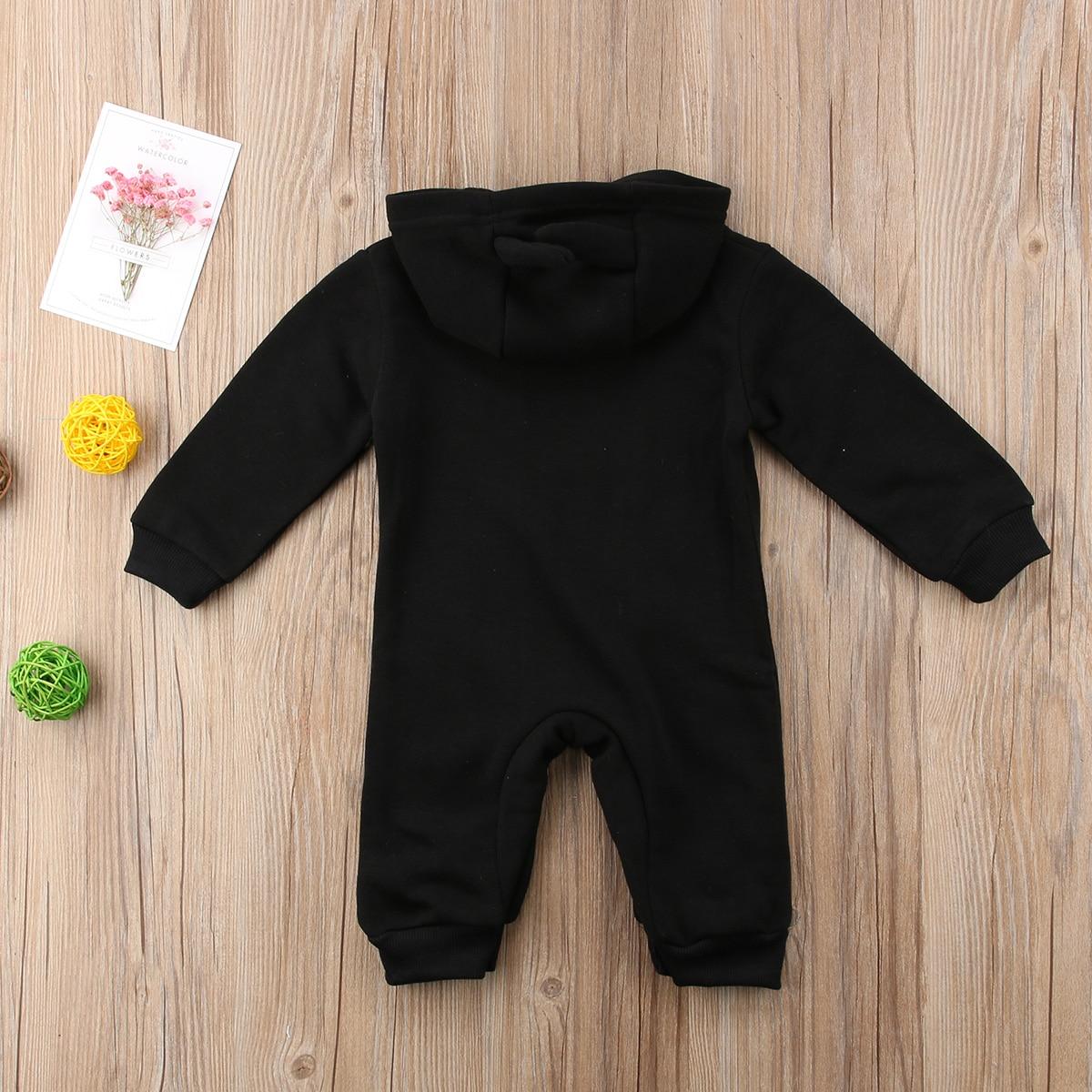 3d9250e49f00 Baby Warm Romper 2019 New Cute Baby Boy Girl Batman Romper Autumn ...