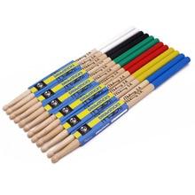 1 par de palillos de tambor de madera de arce 5A 7A estante de tambor electrónico baquetas musicales accesorios de instrumentos de percusión