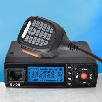 BJ-218 Auto Mini Radio Doppel Display Walkie Talkie Plattform UV Doppel-Bühne Auto High-Power Zigarette Zündung
