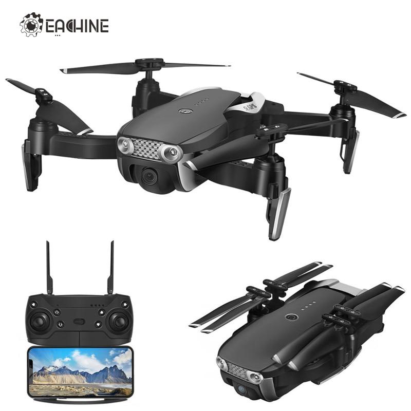Eachine E511S 2.4G 4CH GPS 6-eixo giroscópio Dinâmico Siga WIFI FPV Com A Câmera 1080 P 16 minutos o Tempo de vôo RC Zangão Quadcopter
