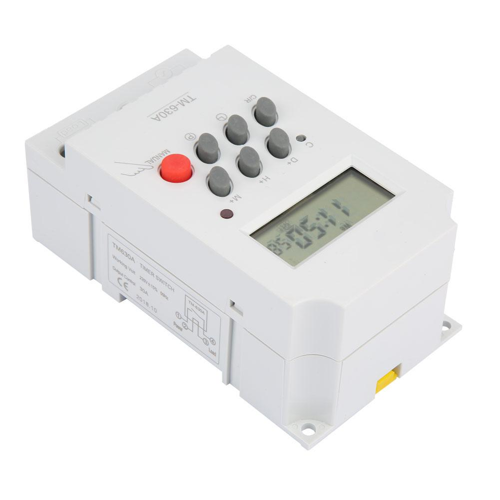 Messung Und Analyse Instrumente Timer Liberal Tm630a 12 V Dc/ac220v Mini Lcd Digital Mikrocomputersteuerung Power Timer Schalter Gute Qualität