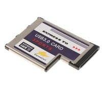 33 Port Versteckte Innen USB 3.0 USB3.0 zu Expresscard Express Card 54 54mm Adapter Konverter 900mA Für Laptop