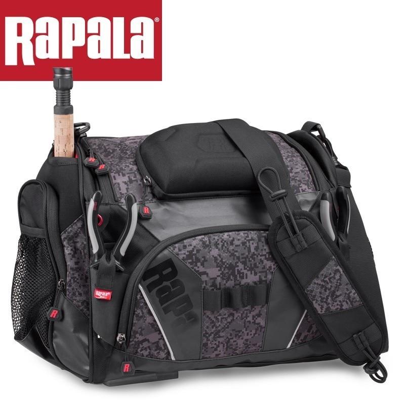 Rapala Urban Messenger Bag Rumb 36*29*18cm Fishing Bag 20L Multifunctional  Shoulder Bag Reel Lure Carrier Storage Tackle  Bag