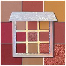 Beauty Glazed Makeup Eyeshadow Palette Pallete Shimmer Pigmented Eye Shadow