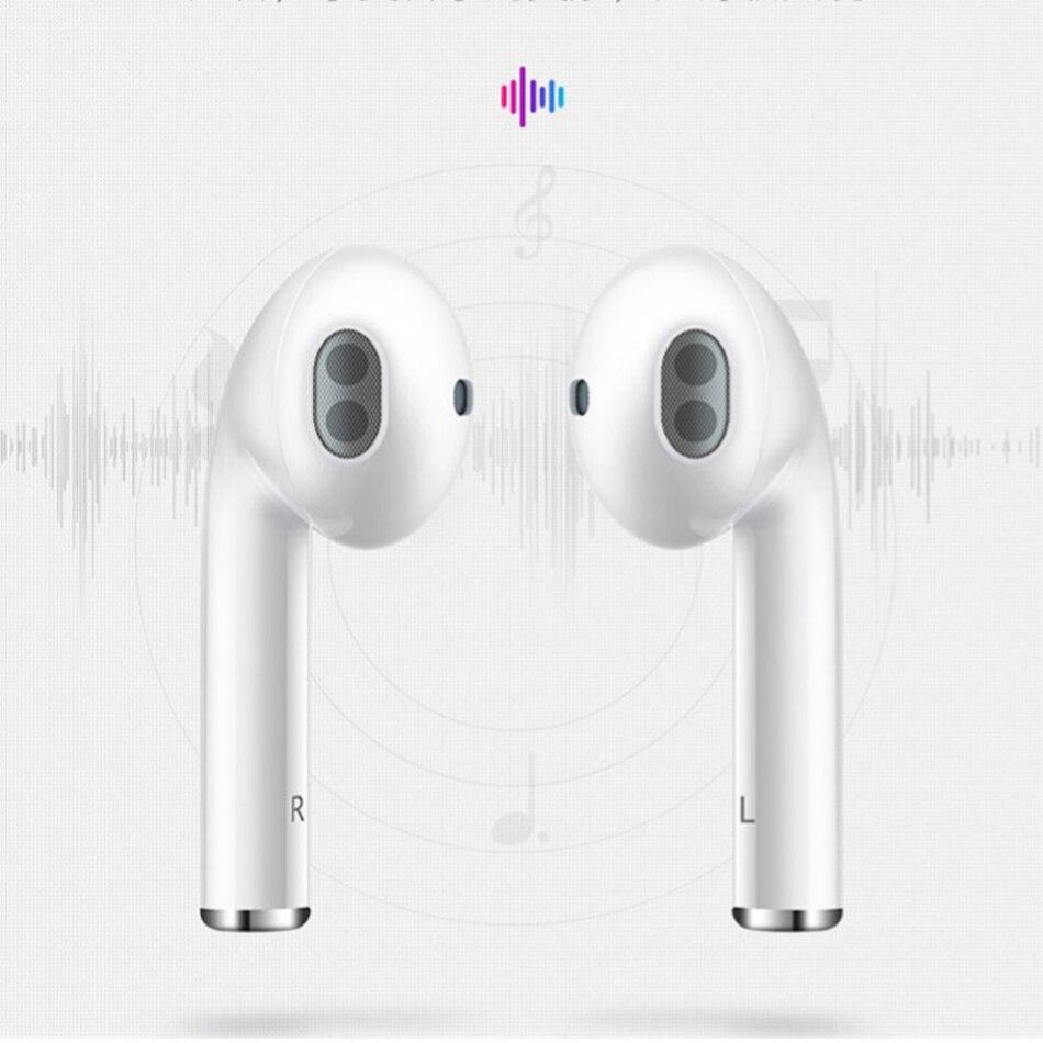 WIWU Wireless Earphone i12 TWS Headset Bluetooth 5 0 Sports Earbuds Touch Control 3D Stereo Wireless
