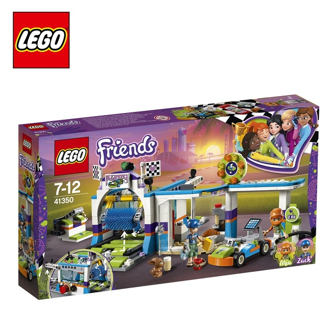 Конструктор LEGO Friends 41350 Автомойка