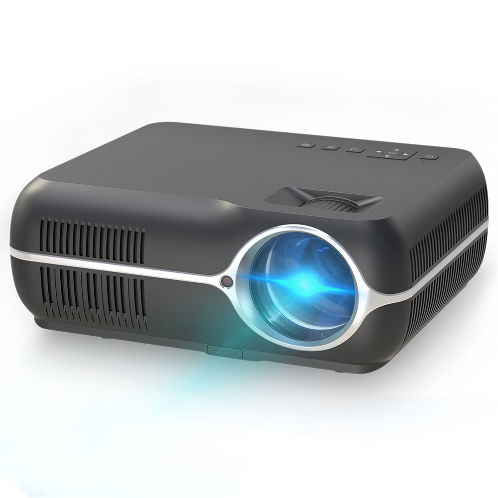Dh-a10 Lcd Projector Android 6.0 1g + 8g 4200 Lumen 1280x800 P Resolutie 10000:1 Contrast Ratio Ondersteuning 3d Home Theater Projector