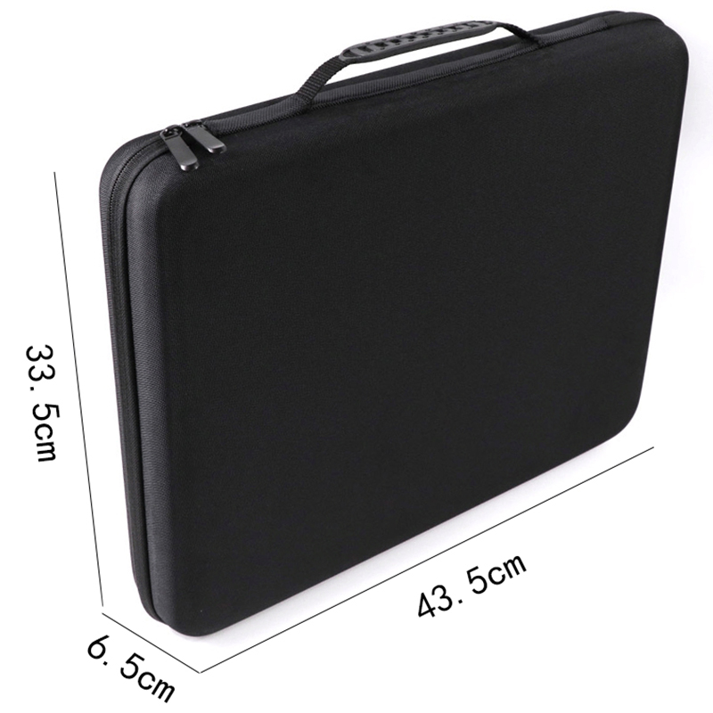 Portable Travel Shockproof Protective Carrying Case Box Storage Bag Compatible with Ableton Push 2 Disc Controller