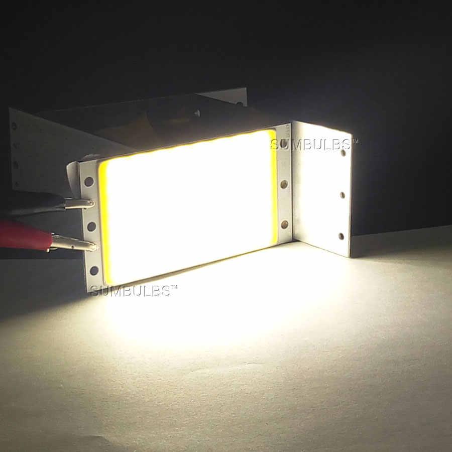 Âm Trần 12V COB Đèn LED Panel 94X50 Mm 15W Siêu Sáng Ấm Tự Nhiên Trắng Lạnh dải Xanh Đèn Sóng RF Bộ Điều Khiển