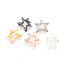 Fashion Hairpin For Women Gold Metal Claw Clips Geometric Hollow Out Star Type Crab Hair PonyTail Holder Headdress