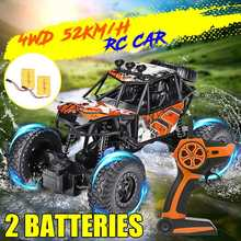 1:22 4WD RC Car Rock Crawler Rechraeable Battery Remote Controll Climbling Cars Off Road Vehicle Children Kids Toy Gift