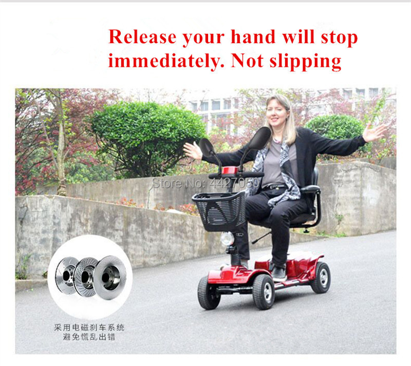 2019 hot sell Cheap price four wheeled scooter for the elderly and disabled