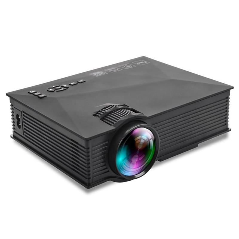 UC46 Plus Mini Pico projecteur 800x480 vidéo maison Portable projecteur 1200 lumens WIFI Support Miracast/Airplay
