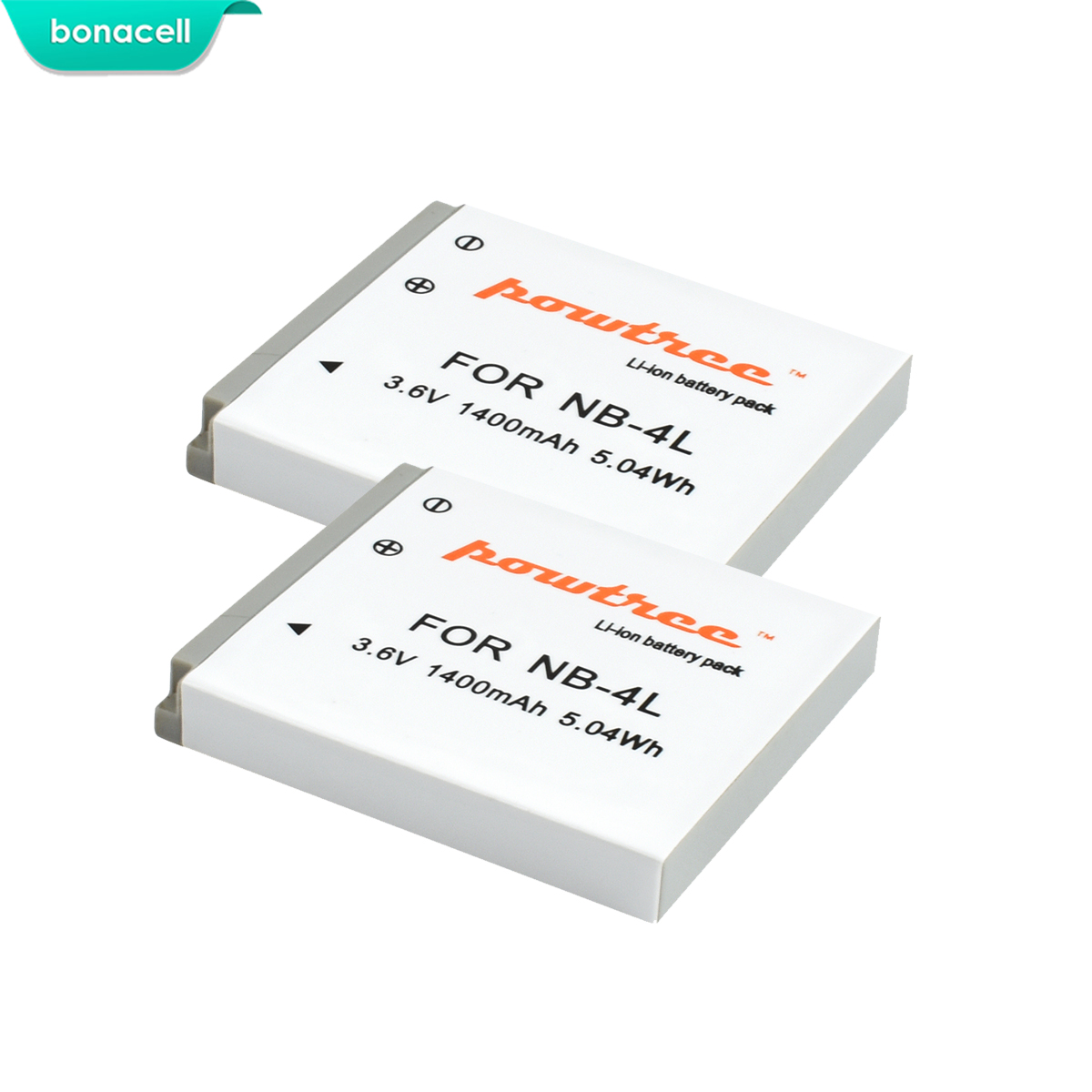 Bonacell 1400 mah NB-4L NB4L 4L Bateria Bateria para Canon IXUS NB 30 40 50 55 60 65 80 100 powerShot SD1000 1100 Câmera L10