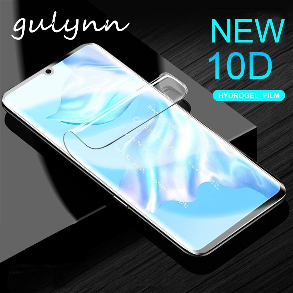 New 10D Screen Protector on the For Huawei Honor 8A 8C Pro P30 P 30 P20 Mate 20 Lite Not Glass 0 17mm Curved Soft Hydrogel Film in Phone Screen Protectors from Cellphones Telecommunications