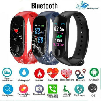 Smart Wristband Bracelet Watch Heart Rate Monitor Blood Pressure Measurement Fitness Activity Tracker Smart Band For ios Android фото