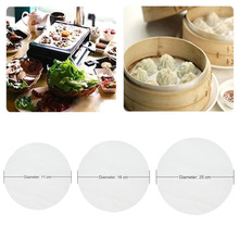 5 Packs 11 16 25 cm Round Baking Paper Circle Parchment BBQ Mat Oven Hamburger Cake Pastry Biscuit Non-Stick Kitchen Tool