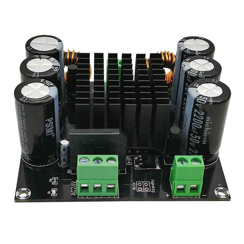 XH-M253 TDA8954TH Inti BTL Mode HI FI Kelas Daya Tinggi 420W Mono Digital Amplifier Papan D3-003